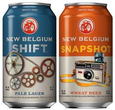 @New Belgium Brewing Cans