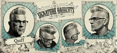 <img> HairHaircut ideas, Men's hairstyles, Haircut types - Modern Hairstyles, Hairstyles Haircuts, Haircuts For Men, Psychobilly Bands, Badass Haircut, The Quiff, Classic Haircut, Star Hair, Hair Game