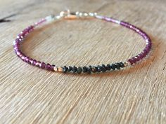 A personal favourite from my Etsy shop https://www.etsy.com/no-en/listing/587481172/april-birthstone-bracelet-with-raw