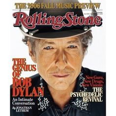 Classic Rolling Stone Magazine Covers | Bob Dylan Rolling Stone Magazine 7 September 2006 Cover Photo - United ...