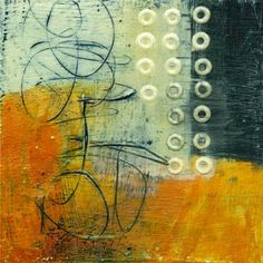 collage journeys: Encaustic on Paper