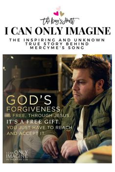 I Can Only Imagine Movie - the true life story of singer/songwriter Bart Millard's life. In theaters March A story of God's love and redemption. Scripture Quotes, Jesus Quotes, Bible Scriptures, Words Quotes, Bible Study Notebook, Christian Movies, Personal Relationship, Hallmark Movies, God First