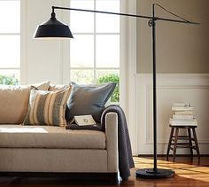 Fillmore Sectional Floor Lamp #potterybarn
