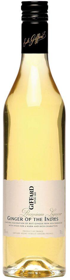GIFFARD Premium Liqueur - Ginger of the Indies  70 cl - 35%