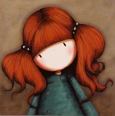 Carte postale Gorjuss - Petite Annie