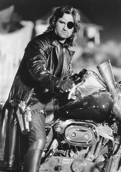 "Kurt Russell as ""Snake Pliskin""...Escape from New York."