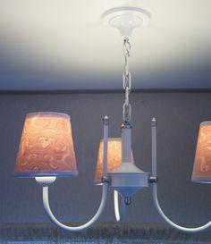 Luminária Pendente com 3 Cúpulas