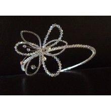Silver Clematis Tiara by Nancy Laverge