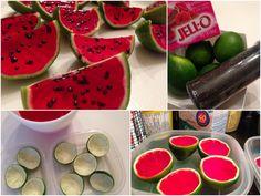 Des limes qui se prennent pour du melon d'eau et 8 autres idées festives sous le même thème.