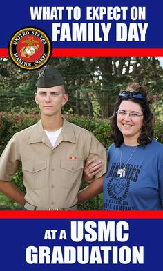 What to Expect at a Marine Corps Graduation Family Day. Learn about a USMC Graduation Family Day from a THREE time Marine Mom.