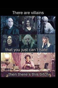 Harry Potter Villains