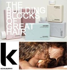 Kevin.Murphy is a fashion focused range of salon only, professional, hair care products that are made from renewable and sustainable resources whenever possible, using pure essential oils, plant extracts and natural antioxidants.
