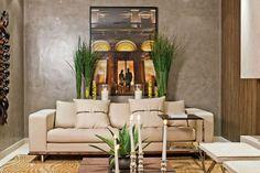 Sala de estar decorada por Deborah Roig
