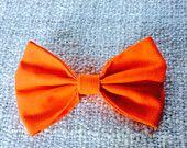 Hocus Pocus - Halloween orange glitter bow headband! http://www.littlestfierceones.etsy.com