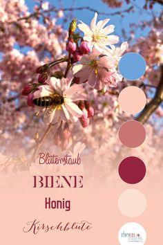 Die Farben des Frühlings als Inspiration für deine Marke und dein Branding. Ideen für Farben und Schriftarten für deine Corporate Identity. Web Design, Logo Design, Corporate Design, Flyer, Designs, Creative, Spring, Movie Posters, Blog