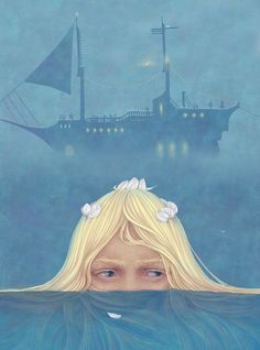 çizgili masallar: The Little Mermaid by Galya Zinko