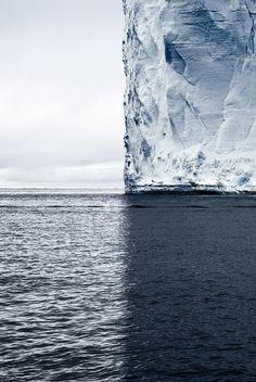 Sartorial Johnny Boy... Ice and sea.