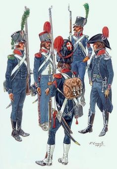 French Light Infantry, Consulate period.