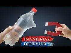Sizi Şaşırtacak 4 İnanılmaz Deney (Su İle Yapılan Deneyler) - YouTube