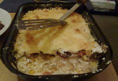 Kukoricával és gombával rakott csirkemell Lasagna, Macaroni And Cheese, Ethnic Recipes, Food, Mac And Cheese, Essen, Meals, Yemek, Lasagne
