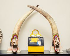 """One day, I met a friend that was creating some Lego sculptures and while playing with them I immediately thought about creating something special, pop and unique."" http://www.thecoveteur.com/les-petit-joueurs-maria-sole-cecchi/"