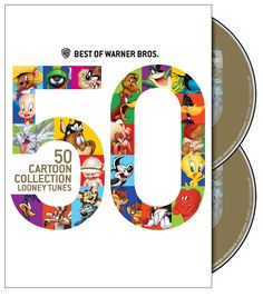 Best of Warner Bros. 50 Cartoon Collection: Looney Tunes Title: Best of Warner Bros. 50 Cartoon Collection: Looney Tunes Factory sealed DVD sell by Warner Manufacturing Bugs Bunny Cartoons, Looney Tunes Cartoons, Elmer Fudd, Warner Brothers, Warner Bros, Gifts For Brother, Fathers Day Gifts, Tweety, Foghorn Leghorn