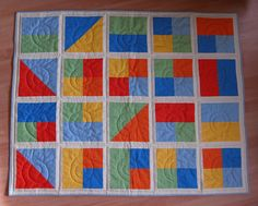 Baby Quilt by suleon, via Flickr