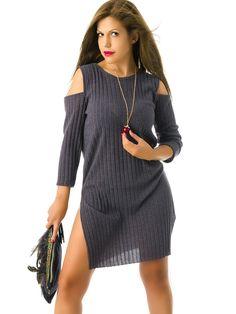 Jerseys de Punto Mujer Largos MS1745