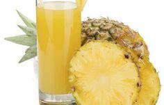 Cuidados Com a Saúde : Suco de Abacaxi