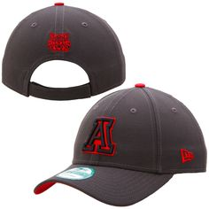 Arizona Wildcats New Era NCAA The League 9Forty Adjustable Hat – Graphite - $14.39