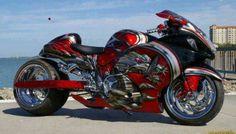 Love the paint job on the bike!