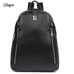 3362dc2dcb4b Men Backpack Genuine Leather Male Shoulder Bag Large Capacity Travel Bags  For Man Trendy Business Laptop Bag School Bag