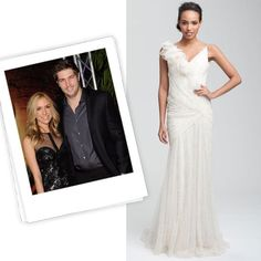 hollywood glam dress - shorter version of this dress for bridesmaid.
