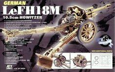 German LeFH18M 10.5cm Howitzer. AFV Club, 1/35, rebox 2003 (ex AFV Club 2003 No.AF35050, updated/new parts), No.AF35S24. Price: 20 USD (eBay).