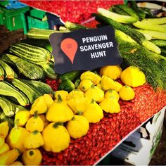 #Penguin80Sweepstakes Instagram #ScavengerHunt  Week 2, Clue 3:  If you are looking for a market this is the place to be, four days a week its fruits and veggies as far as the eye can see.  This week was harder, that much is for sure, but that is half of