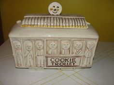 Treasure Craft Cookie Trolley Cookie Jar