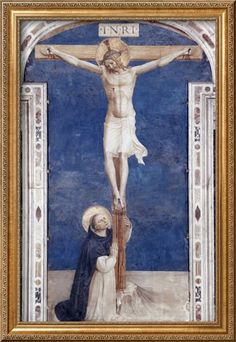 Crucifixcion with Saint Dominick, c.1438-1445 Giclee Print by Fra Angelico at AllPosters.com