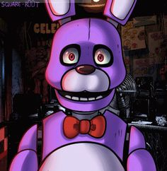 "square-r00t:  "" Two hundred years after the Chica one, here's a Bonnie. :>  Also, before you can say it. NO, it's not supposed to be a dating sim. Hush.  —  """
