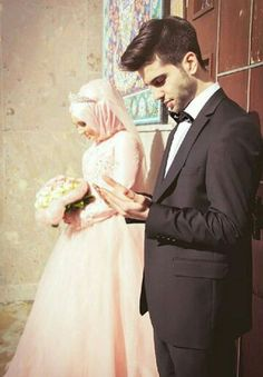 Muslim bride and groom http://greatislamicquotes.com/muhammad-ali-quotes/