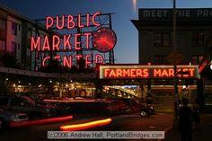 Down town Seattle :)
