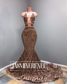 Long Sparkly Prom Dresses 2020 Sexy Mermaid Style Deep V-neck African Black Girl Rose Gold Sequin Prom Dress Black Girl Prom Dresses, African Prom Dresses, Senior Prom Dresses, Cute Prom Dresses, Prom Outfits, Mermaid Prom Dresses, Event Dresses, Wedding Dresses, Jasmin