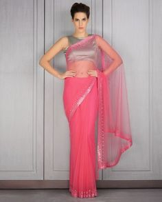 simple saree for farewell - Google Search