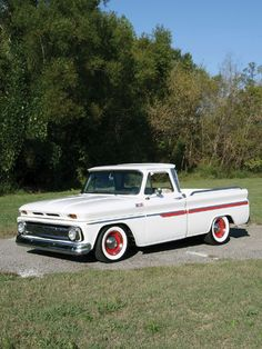 1965 Chevy C10 My son would llike this truck.