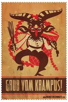 Grub Vom Krampus by SteamCrow, via Flickr