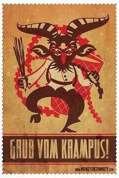 Grub Vom Krampus by SteamCrow, via Flickr