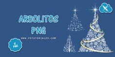 8 arbolitos de Navidad | PS Tutoriales