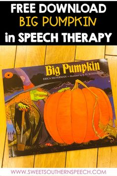 4 Halloween Books With Free Language Bookmarks - Sweet Southern Speech Halloween Speech Therapy Activities, Preschool Speech Therapy, Speech Activities, Speech Language Pathology, Language Activities, Speech And Language, Shape Activities, Free Activities, Holiday Activities