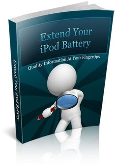 Extend Ipod Battery #ipod #apple #ipad #gadget #battery