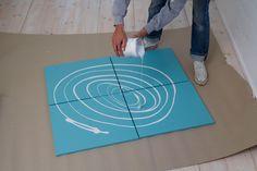 5 ideas para hacer cuadros decorativos sin saber pintar