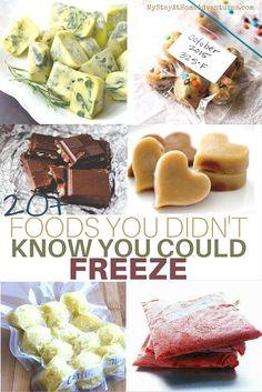 Did you know that there are Foods You Didn't Know You Could Freeze that will save you time and money? Learn all about them here.